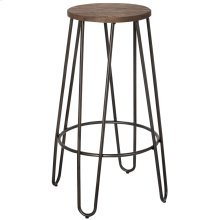 Revo 26'' Counter Stool, set of 4, in Black