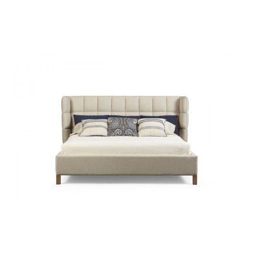 Epicenters Austin North Loop California King Upholstered Shelter Bed