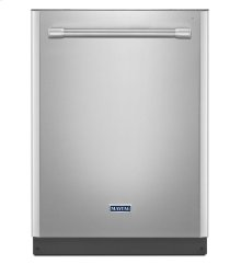 24-inch Wide Top Control Dishwasher with 4-Blade Stainless Steel Chopper