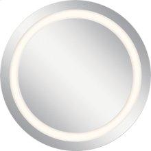"33.5"" x 33.5"" LED Backlit Mirror"