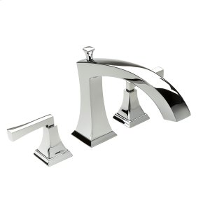 Roman Tub Faucet Leyden (series 14) Polished Chrome