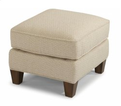 Allison Fabric Ottoman Product Image