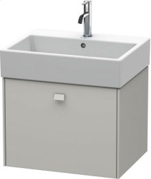 Vanity Unit Wall-mounted, Concrete Grey Matt Decor