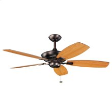 Canfield Collection 52 Inch Canfield Ceiling Fan OBB