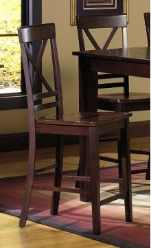 Dining Chairs (2 Per Ctn) - Espresso Finish