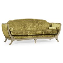 Empire Sofa (Grey Weathered/Velvet Lime)