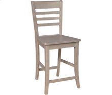 Roma Stool Taupe Gray