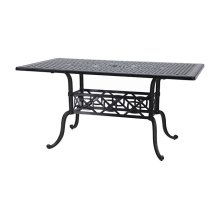 "Grand Terrace 42"" x 72"" Rectangular Balcony/Gathering Table"