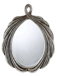 CARBONIA OVAL PU FRAME MIRROR WITH BEVELED GLASS Product Image