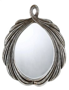 CARBONIA OVAL PU FRAME MIRROR WITH BEVELED GLASS