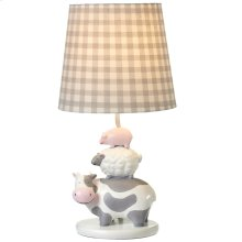 Farm Animal Accent Lamp. 40W Max.