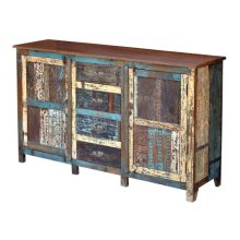 Painted 4 Drawer/2 Door Sideboard