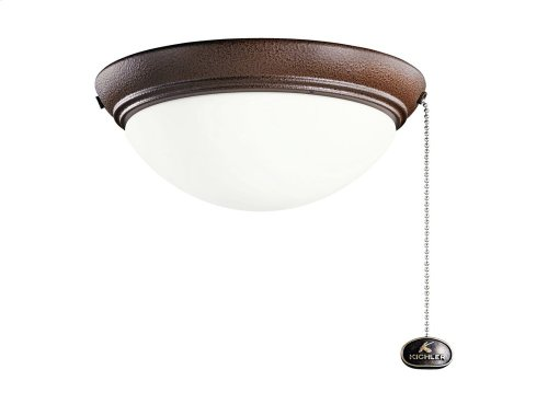 Small Low Profile Outdoor Light Kit Tannery Bronze