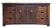 "Hydro 70"" Barn Door Buffet/tv Product Image"