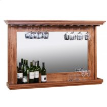 Hanging Backbar W/ Mirror & LED Light Product Image