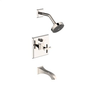 Tub and Shower Trim Hudson (series 14) Polished Nickel (1)