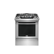 30'' Dual-Fuel Built-In Range with Wave-Touch® Controls