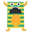 Green Stripe Monster Laundry Bag Product Image