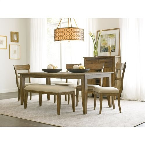 "The Nook 80"" Large Rectangular Leg Table"
