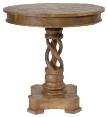 Bengal Manor Mango Wood Twist Accent Table