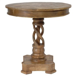 CRESTVIEW COLLECTIONSBengal Manor Mango Wood Twist Accent Table