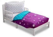 Purple Starry Night 4-Piece Toddler Bedding Set - Purple Starry Night (2005)