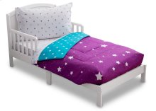 Purple Starry Night 4-Piece Toddler Bedding Set - Kid bundle - Purple Starry Night (2005)