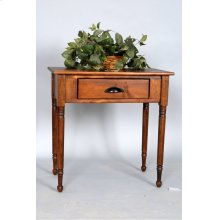 "#512 Hall Table 30""wx17""dx30.25""h"