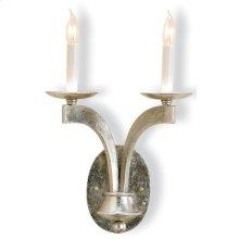 Venus Silver Wall Sconce