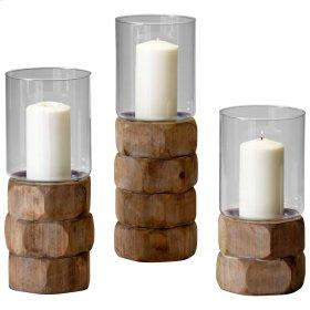 Sm Hex Nut Candleholder