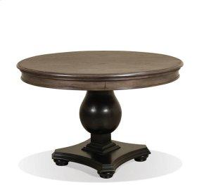 Belmeade Table Base 55 lbs Old World Oak/Raven Black finish