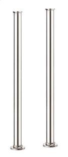 Arcade Floor-mount Pillar Legs - Polished Chrome Product Image