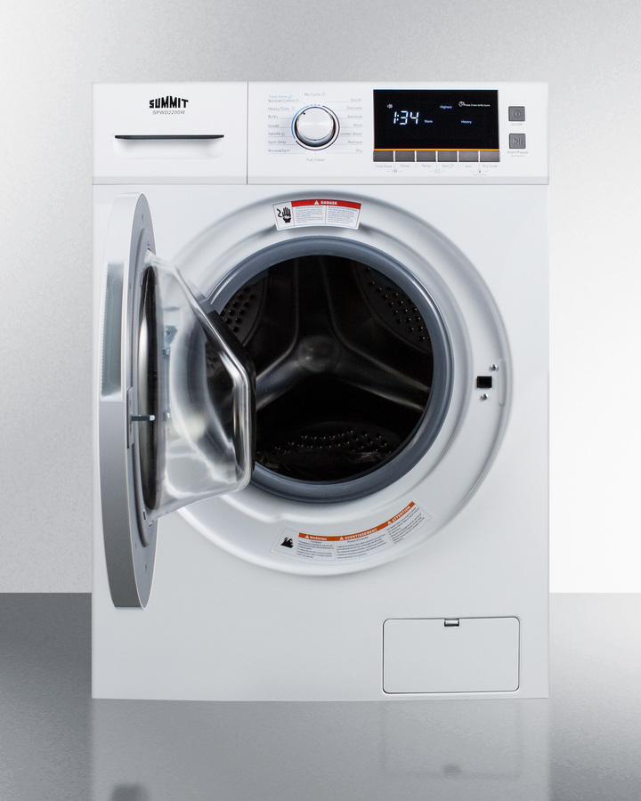 Spwd2200wsummit 24 Quot Wide Washer Dryer Combo For Non Vented
