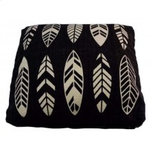 Hausa Patterned Cushion- Large