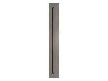 Slimline Flush Pull Solid In Vintage Nickel