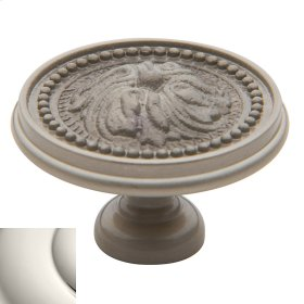 Polished Nickel Ornamental Knob
