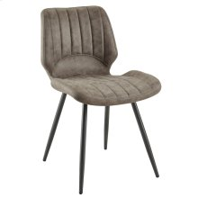 Aspira Side Chair, set of 2, in Brown