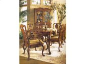Hearts of Wine Slat Back Arm Chair