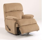 Chicago Fabric Swivel Gliding Recliner