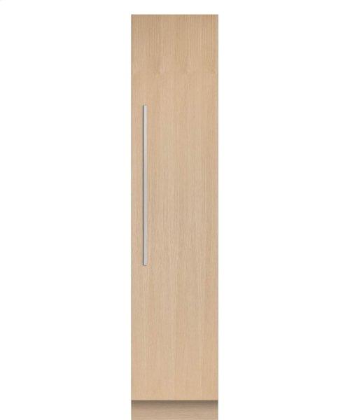 "Integrated Column Freezer 18"", Stainless Steel Interior"