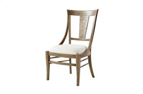Solihull Dining Chair, #plain# - Light Echo Oak