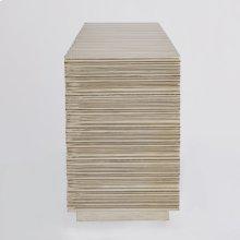Linenfold Cabinet-Silver