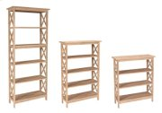 X Book Shelves Product Image