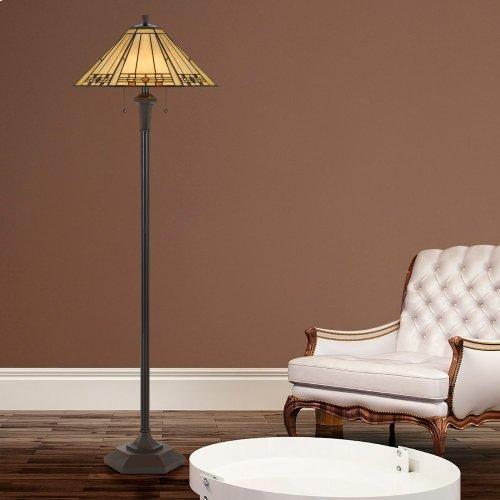 100W X 2 Tiffany Floor Lamp
