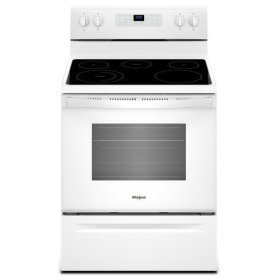 Whirlpool® 5.3 cu. ft. Freestanding Electric Range with 5 Elements - White