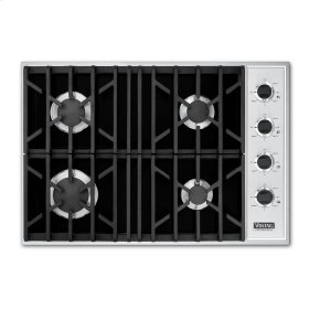 "Black 30"" Gas Cooktop - VGSU (30"" wide, four burners)"