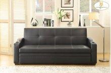 Elegant Lounger Sofa: 82.5 x 32 x 34.75H Bed: 82.5 x 68 x 25.5H