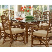 """Chippendale 44 x 78"""" Rectangular Dining Table"""