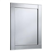Modern 31.5 in. Contemporary Mirror in Clear