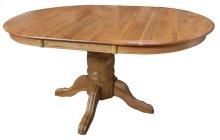 """Pedestal Table w/1-24"""" Leaf & Empire Feet"""